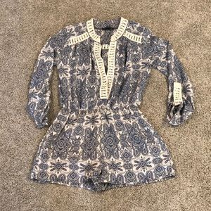 Romeo and Juliet Couture romper